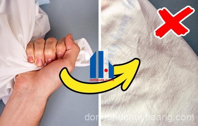 Chất vải kém chất lượng của đồng phục giá rẻ