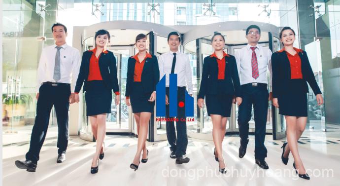 Đồng phục mang lại sự chuyên nghiệp cho đội ngũ nhân viên