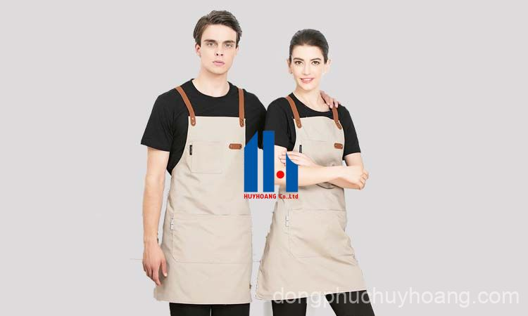 may đồng phục quán cà phê