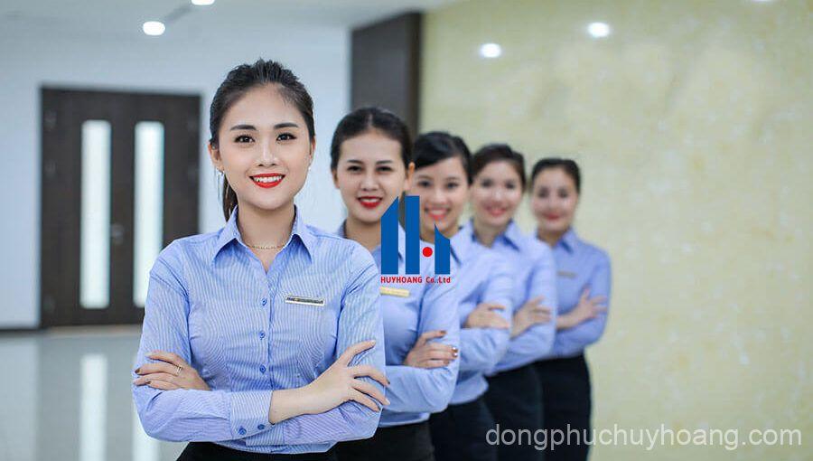 May đồng phục số 1 thị trường tại Huy Hoàng