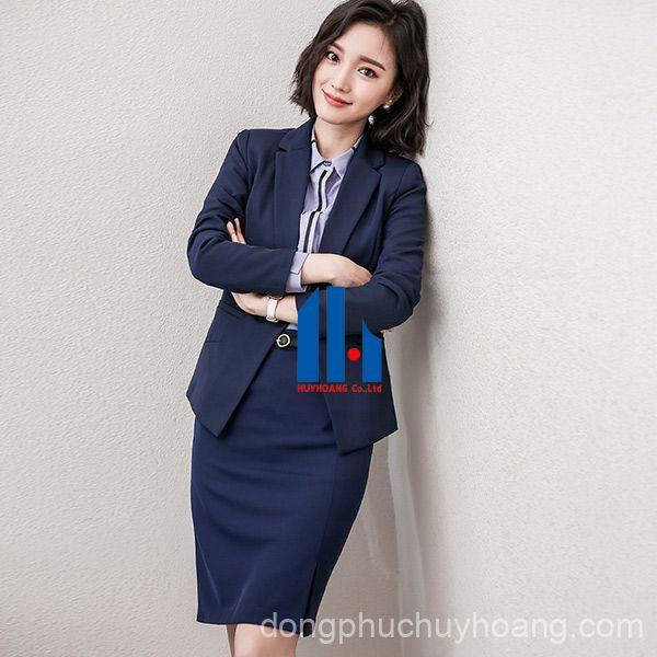 may đồng phục váy nữ