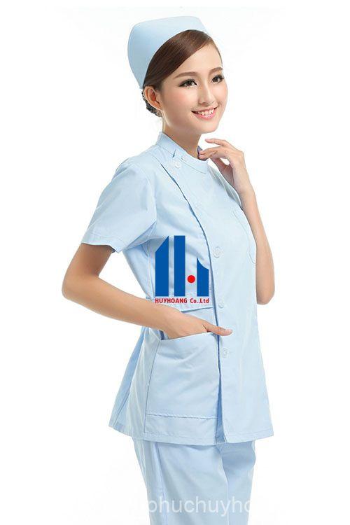 chuyên may đồng phục y tế