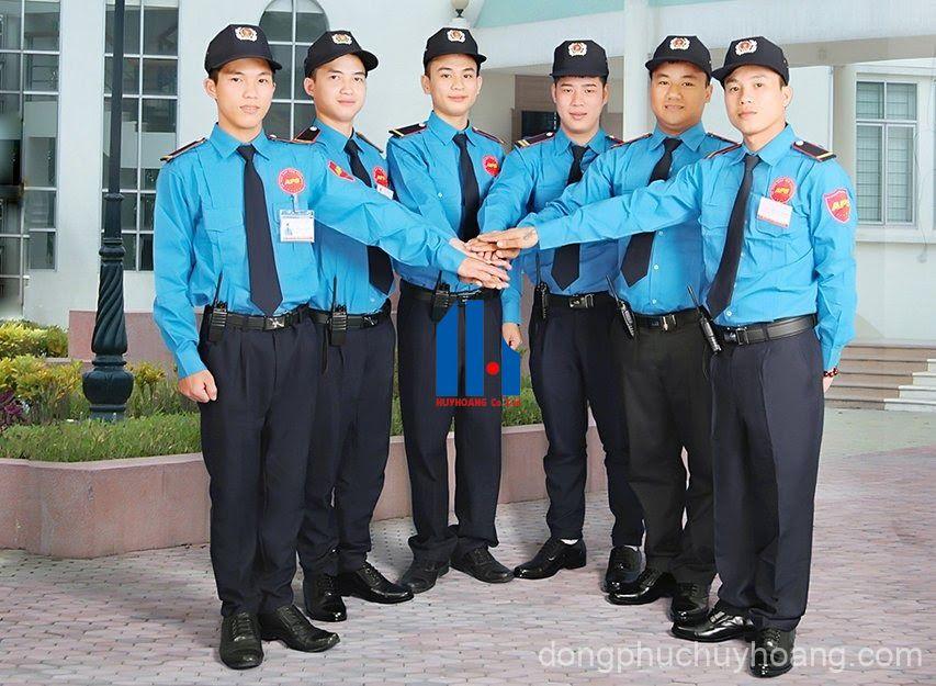 Những tiêu chuẩn khi may đồng phục bảo vệ