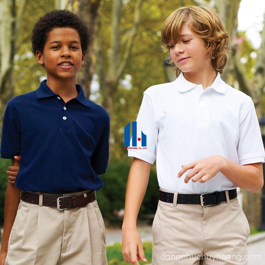 áo phông đồng phục học sinh đẹp