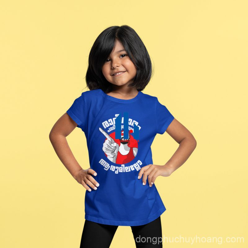 áo thun đồng phục trẻ em