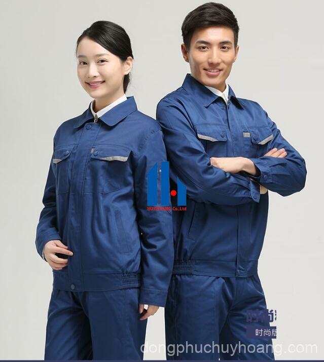 may đồng phục công nhân giá tốt