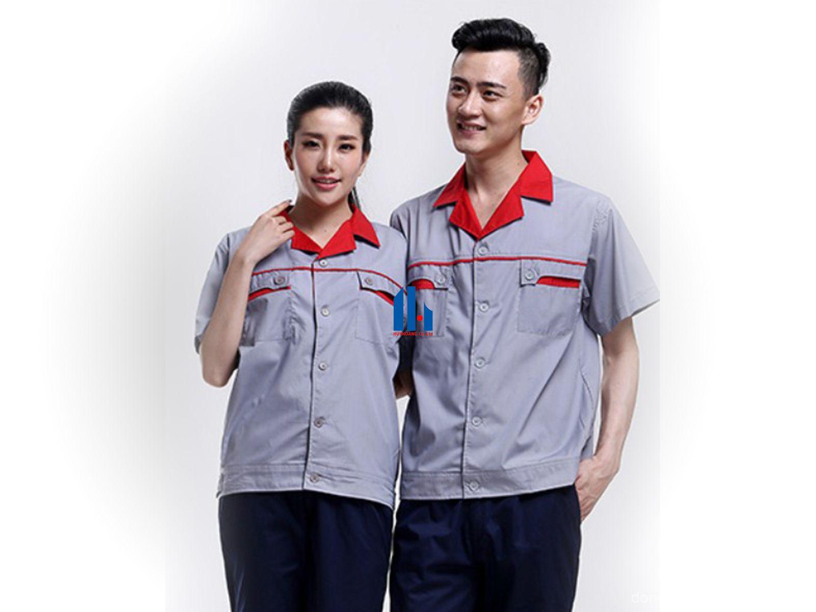 Mẹo chọn quần áo đồng phục công nhân may đẹp và chất lượng