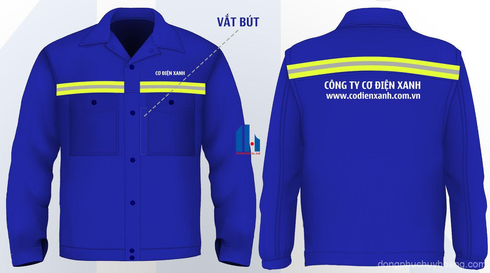 Ứng dụng của dải phản quang trên quần áo bảo hộ lao động